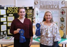 The 8th annual Marshall County Schools Social Studies Fair took place on Monday at Cameron High School.